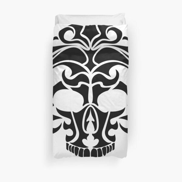 Tribal Skull Duvet Cover