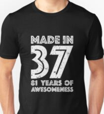 81st Birthday Gift Adult Age 81 Year Old Men Women Unisex T Shirt