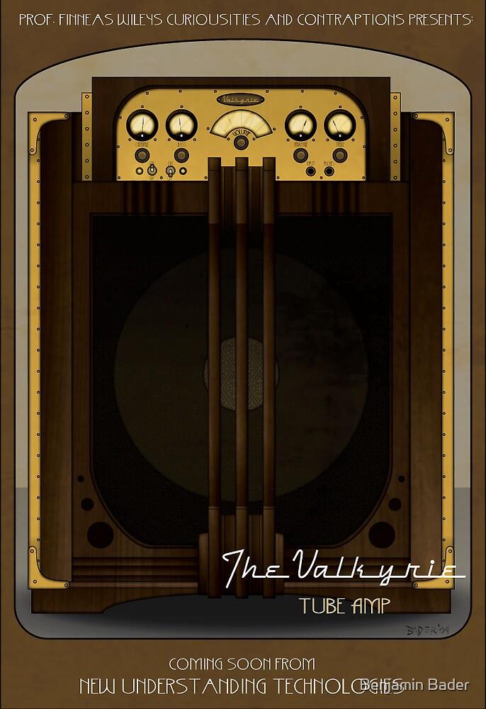 The Valkyrie Guitar Tube Amp by Benjamin Bader