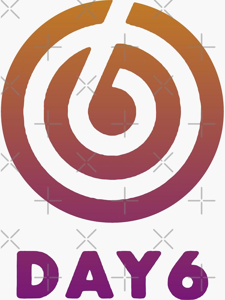 Coloured DAY6 logo by Roddel
