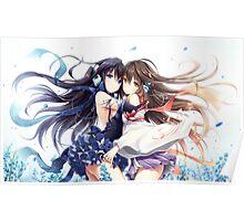 Cute anime girl Poster