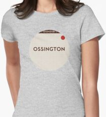 OSSINGTON Subway Station Women's Fitted T-Shirt