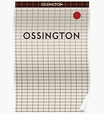 OSSINGTON Subway Station Poster