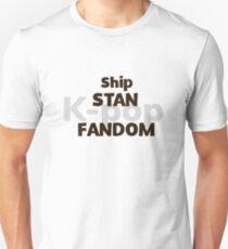 Camiseta ajustada Barco, Stan, K-pop, Fandom