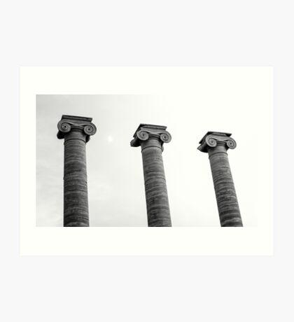 Pillars of Strength Art Print