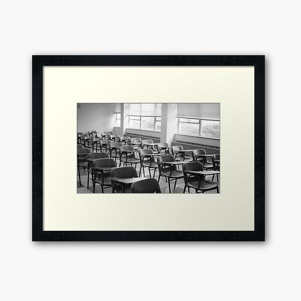 A Forgotten Scene Framed Art Print