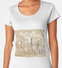 Beach Flowers Women's Premium T-Shirt