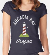Arcadia Bay Organ Women's Fitted Scoop T-Shirt
