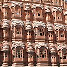 Hawa Mahal, Jaipur landmark, Rajesthan, India by AravindTeki