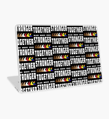 Stronger Together Blue Wave 2018 Laptop Skin