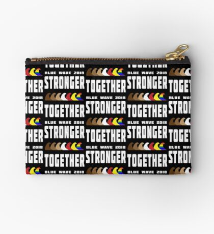 Stronger Together Blue Wave 2018 Studio Pouch