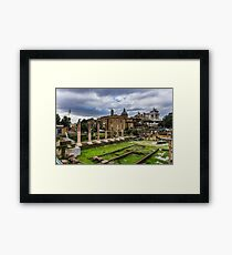 Imperial Forums of Rome Framed Print