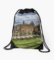 Imperial Forums of Rome Drawstring Bag