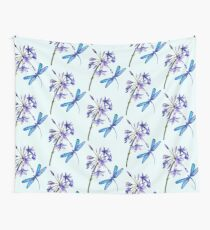 Nature's Gift's - Dragonfly and Flower Wall Tapestry