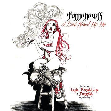 A Bitch Named Hip Hop Album Cover Art by JosieBaldwin