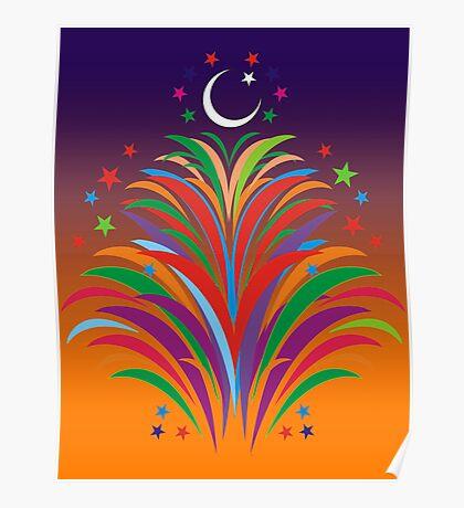 Id Festival Fireworks Poster