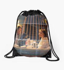Chatting Drawstring Bag