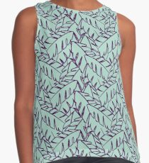 Into The Palms - Purple and Mint Contrast Tank
