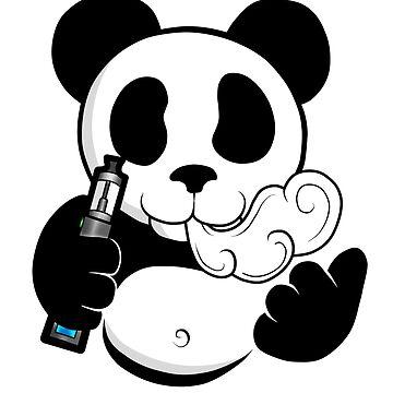 Vape Panda  by XephToons