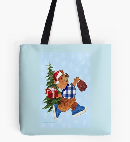 Teddy with gifts [ 2512 views] Tote Bag