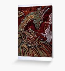 All saints day greeting cards redbubble dragons greeting card m4hsunfo