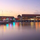 Harbour Lights, Hillarys Boat Harbour by Dave Catley