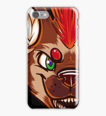 Mohawk Hyena iPhone Case/Skin