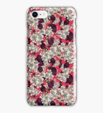 silver blossoms iPhone Case/Skin