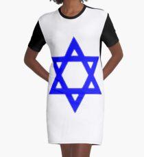 Star of David, ✡, Shield of David, Magen David, symbol, Jewish identity, Judaism, #StarofDavid, #✡, #ShieldofDavid, #MagenDavid, #symbol, #Jewishidentity, #Judaism, #Jewish Graphic T-Shirt Dress