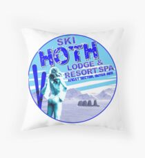 Hoth Lodge Throw Pillow