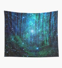 In the magical Forest Wall Tapestry