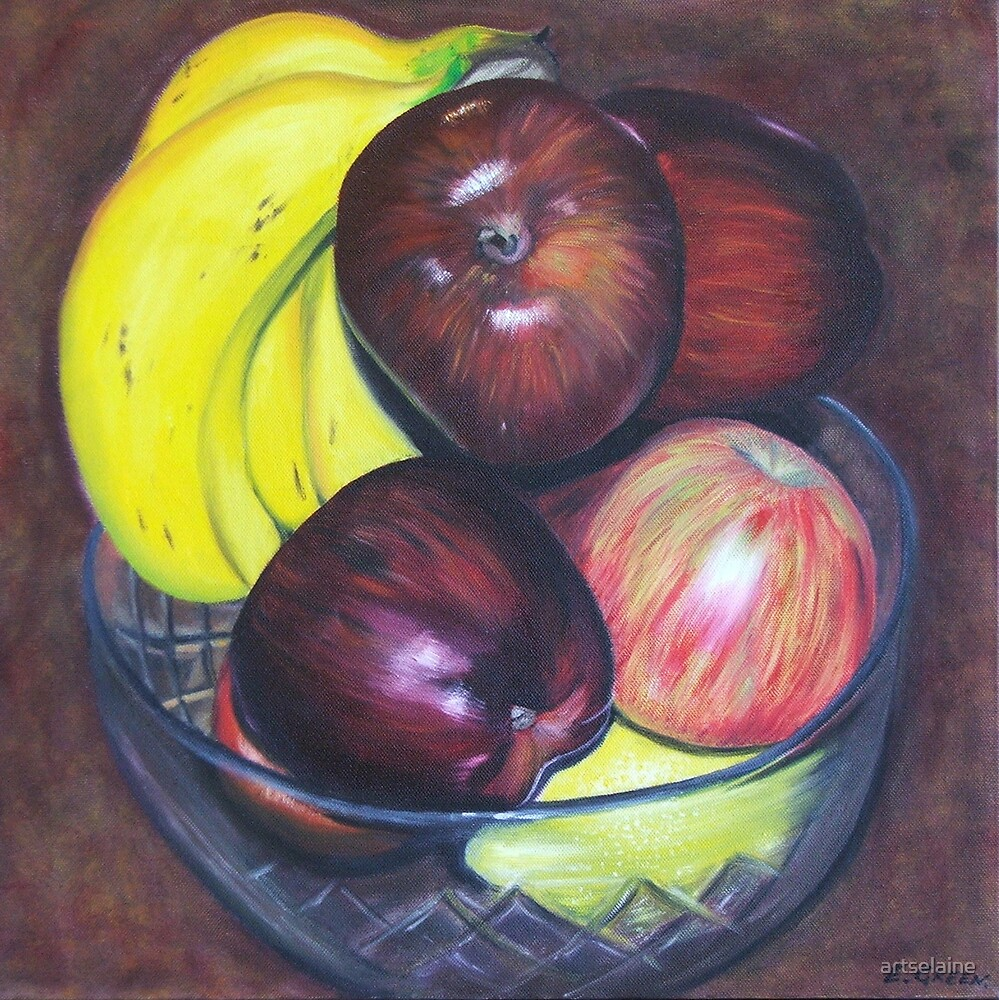 Fruit Bowl by artselaine