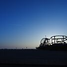 Santa Monica Pier at Sunset by ChristineBetts