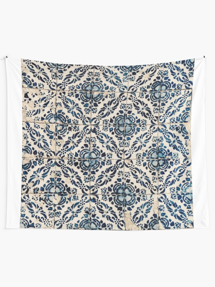 Alternate view of Portuguese Azulejos I Tapestry