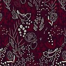 Burgundian winter by Anna Alekseeva