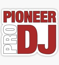 Pioneer DjPro Sticker