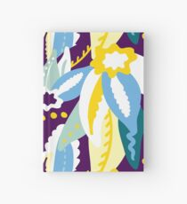 Up In The Clouds - Yellow, Blue, Green and Purple Hardcover Journal