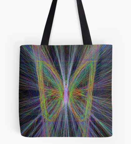 Linify Motley butterfly Tote Bag