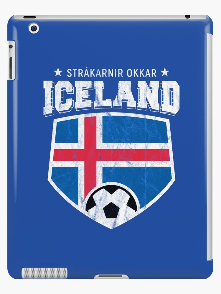 da1563149a8 Iceland Football National Flag T Shirt World Soccer Jersey Cup