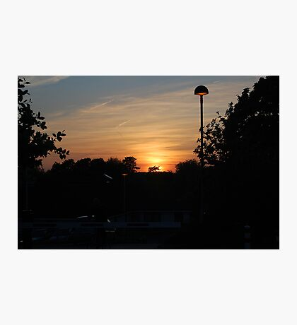 Another Southmead Sunset Photographic Print
