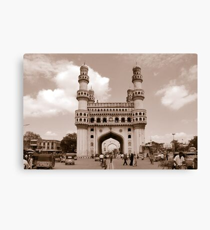 Charminar, Hyderabad, India Canvas Print