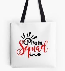 Prom Squad Funny Group Matching Tote Bag