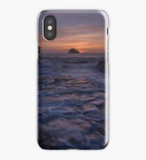 Trebarwith Strand Cornwall afterglow iPhone Case/Skin
