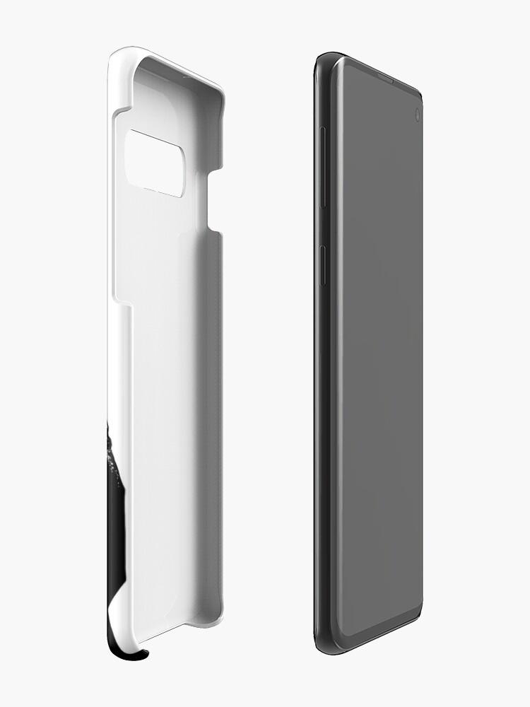 Alternative Ansicht von Tugend und Moir Hüllen & Klebefolien für Samsung Galaxy