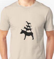 The Town Musicians of Bremen (Die Bremer Stadtmusikanten) - light tees Unisex T-Shirt