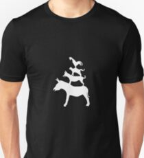 The Town Musicians of Bremen (Die Bremer Stadtmusikanten) - dark tees Unisex T-Shirt