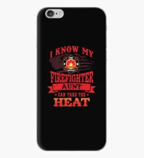 My Firefighter Aunt Can Take The Heat Shirt Gear iPhone Case