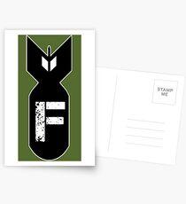 F BOMB Postcards