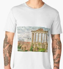 The Temple of Saturn Men's Premium T-Shirt