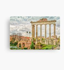 The Temple of Saturn Metal Print